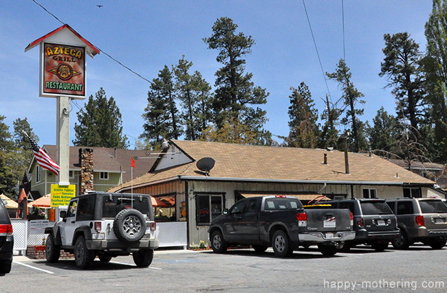 Azteca Grill Mexican restaurant in Big Bear Lake, CA