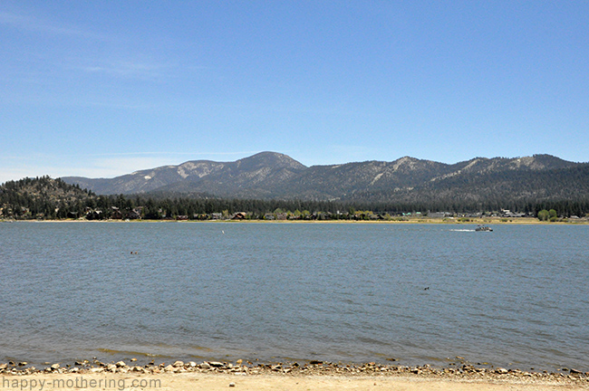 Big Bear Lake from the shoreline