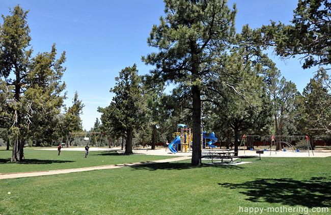 Sugarloaf Park in Big Bear Lake, CA