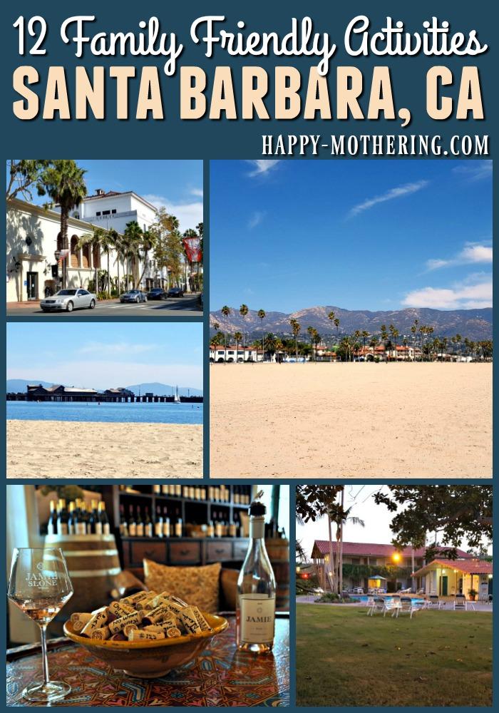 Collage of images of Santa Barbara, CA