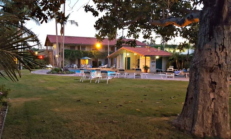 Pool at the Best Western Peppertree Inn in Santa Barbara, CA