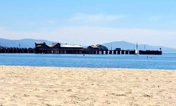 Stearns Wharf in Santa Barbara, CA