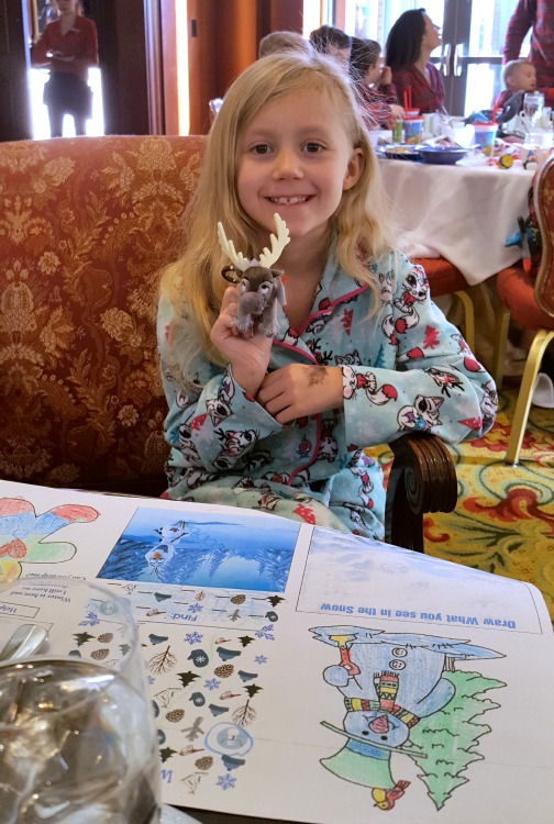 Kaylee at the Four Seasons Westlake Village Character Breakfast