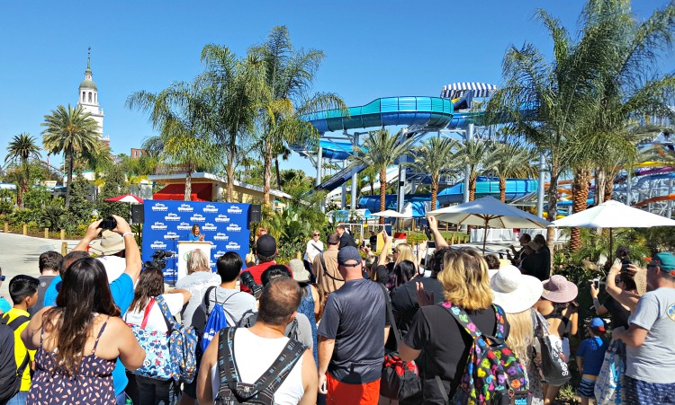 Knott's Soak City ribbon cutting ceremony in Buena Park, CA