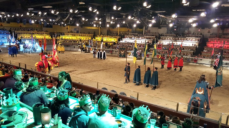 Medieval Times dinner show in Buena Park, CA