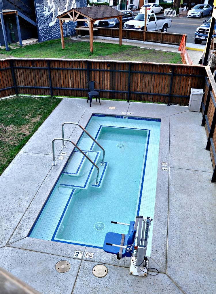 Basecamp Hotel Pool