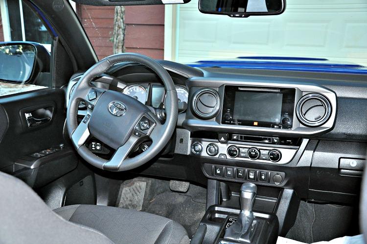 Toyota Tacoma driver's seat