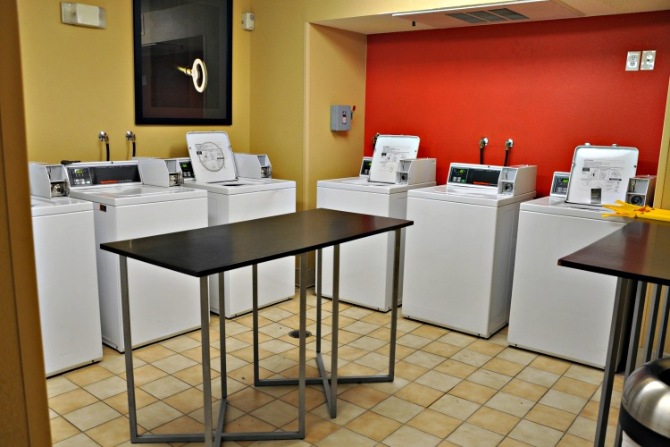 Washing machines at Extended Stay America