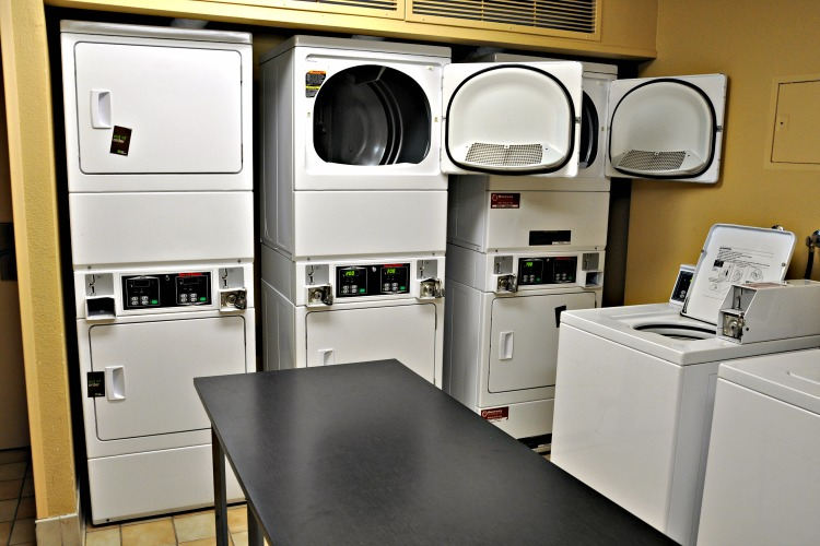 Clothes dryers at Extended Stay America
