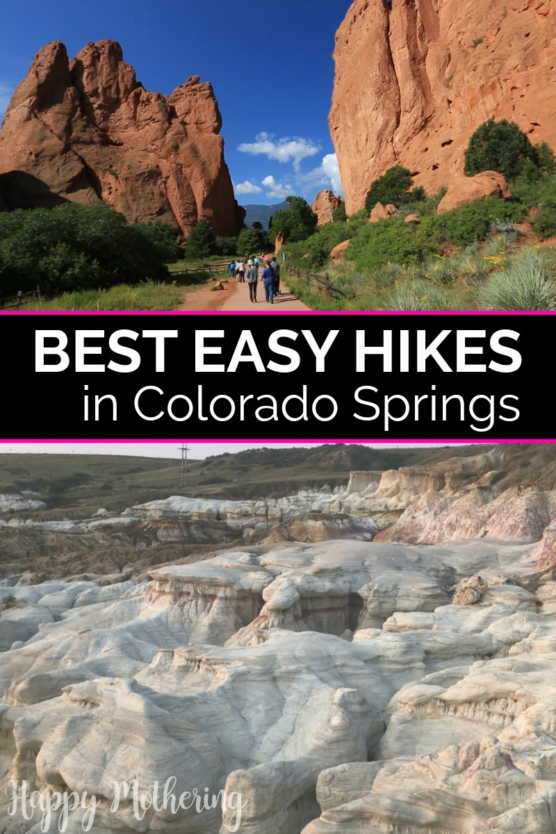 Hiking trails in Colorado Springs, CO