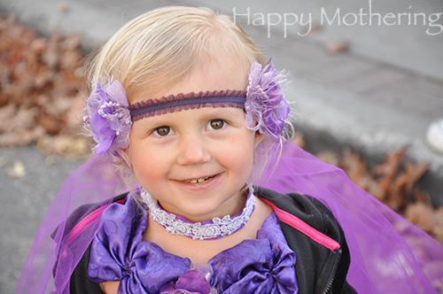 Princess Kaylee on Halloween