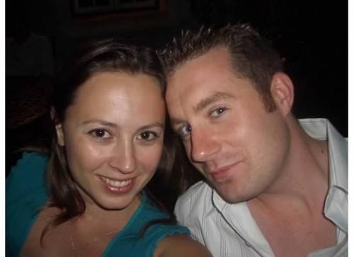 Brian and Chrystal in their twenties