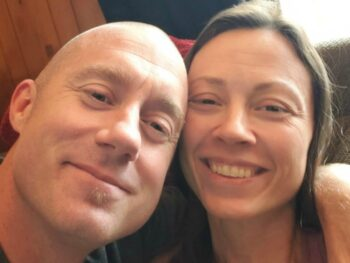 Brian and Chrystal Johnson; July 2018