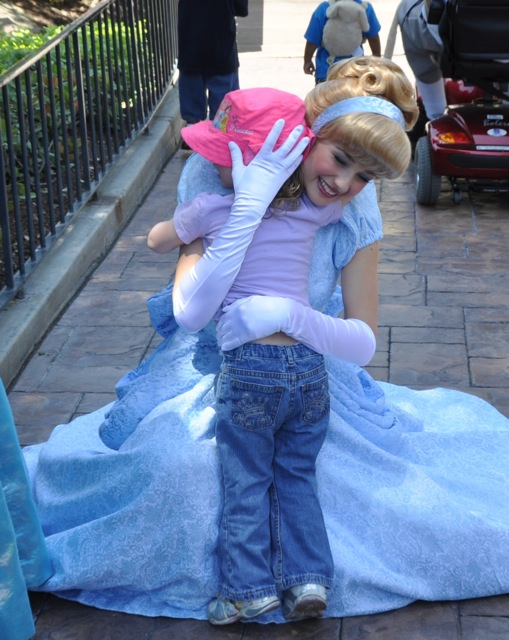 Zoë Meeting Cinderella