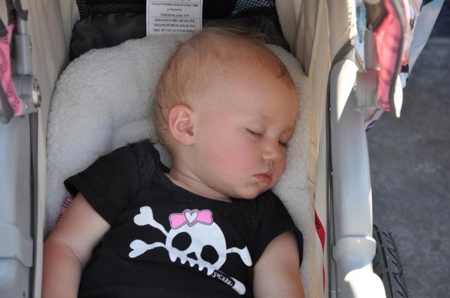 Kaylee Took a 4-Hour Nap at Disneyland!
