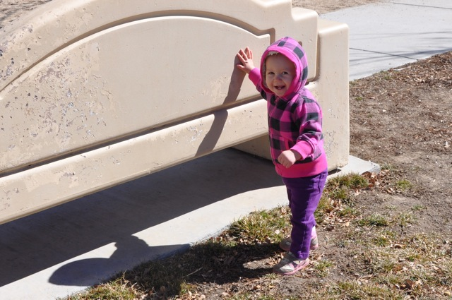 Kaylee Playing at the Park