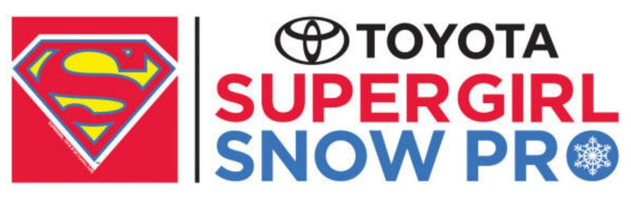 Toyota Super Girl Snow Pro Logo