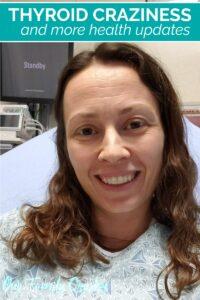 Chrystal in ER bed getting thyroid CT