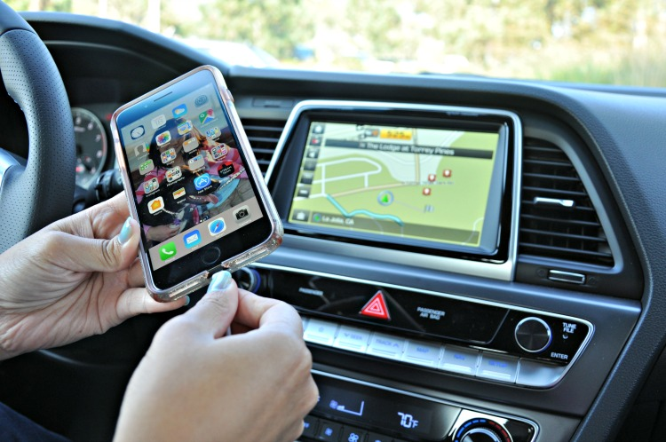 Plugging cell phone into Apple Car Play