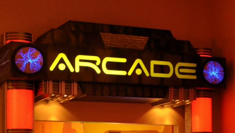 Arcade Sign at Red Rock Casino in Las Vegas, NV