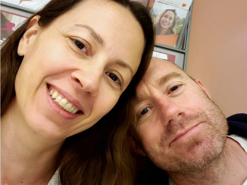 Brian and Chrystal at the Rheumatologist