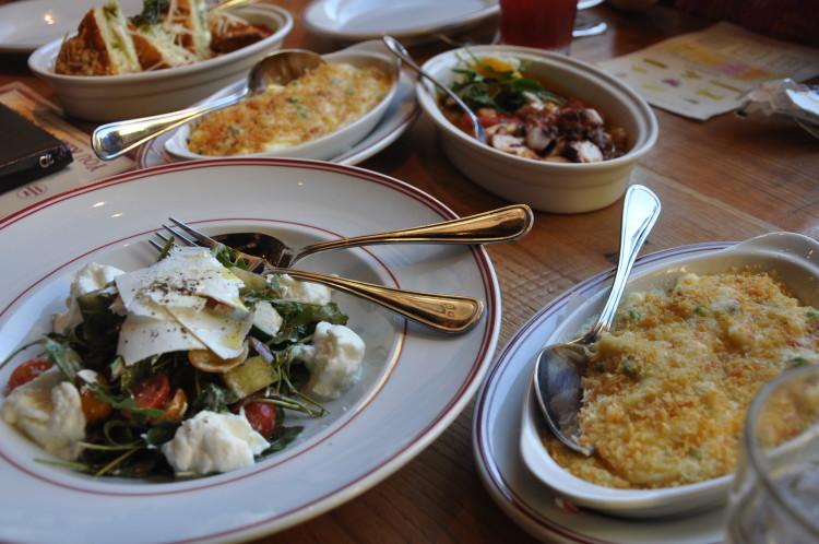 Appetizers at Buddy V's Ristorante in Las Vegas, NV
