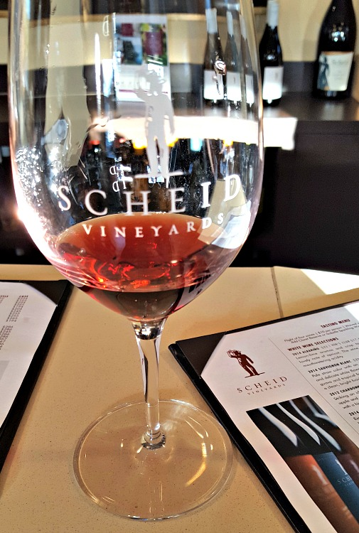 Wine tasting at Sheid in Carmel by the Sea, CA