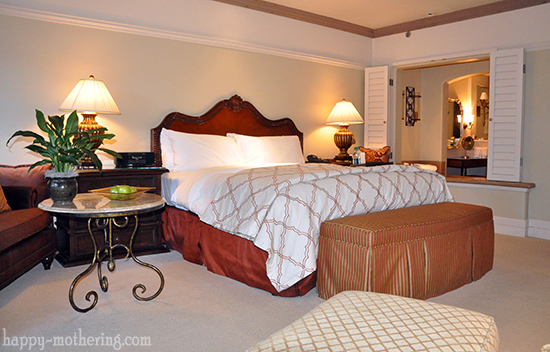 Room at the Casa Palmero in Pebble Beach, CA
