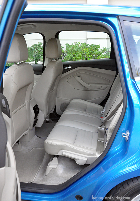 Back seat of the Ford C-Max
