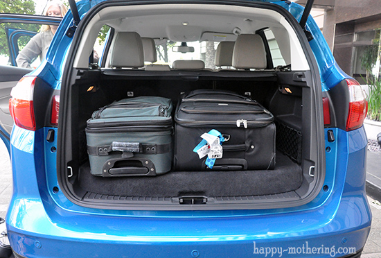 Trunk of the Ford C-Max