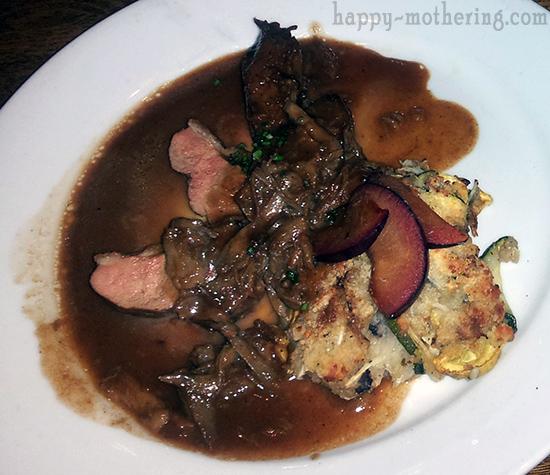 Goose dish at Luke New Orleans