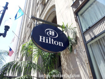 Hilton New Orleans Sign