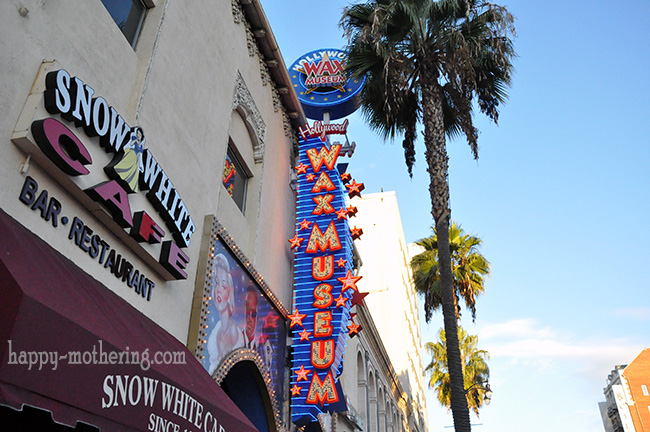 Front of Hollywood Wax Museum