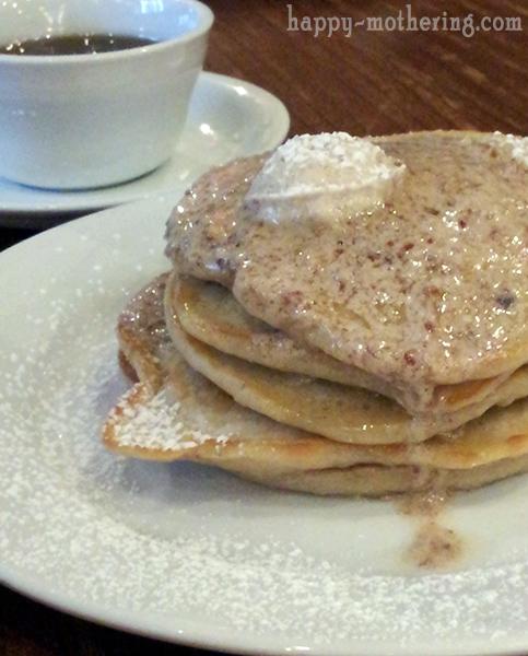 Pecan butter pancakes at Luke New Orleans