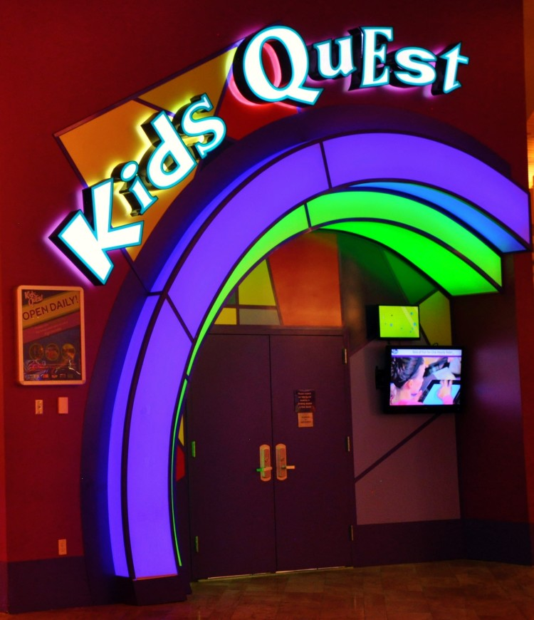 Kids Quest Sign at Red Rock Casino in Las Vegas