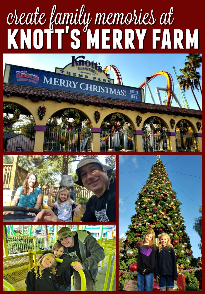 Collage of images from Knott's Merry Farm