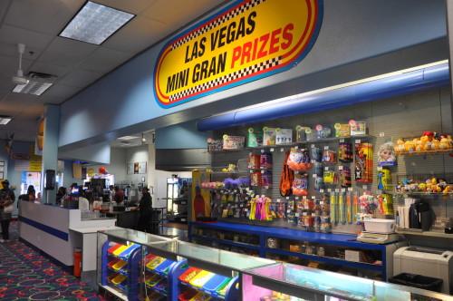 Las Vegas Mini Gran Prix Prize Wall