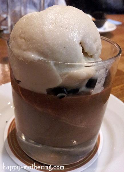 Gluten Free dessert at Luke New Orleans