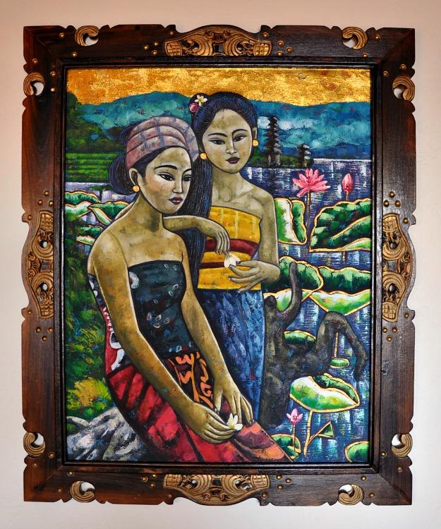 Painting at the Pantai Inn