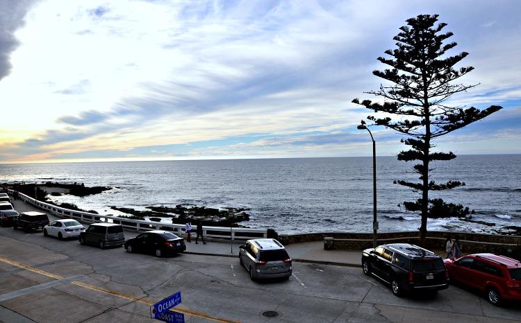 Ocean view from Pantai Inn