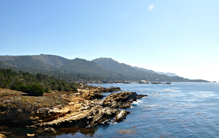 Spectacular coastal views at Point Lobos State Reserve in California