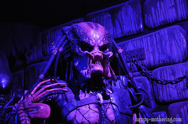 Predator at Hollywood Wax Museum
