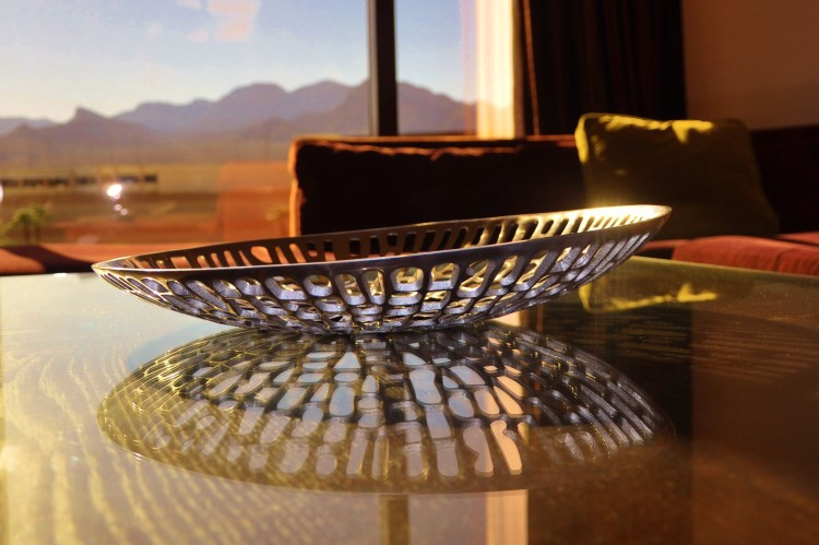 Unique bowl in Red Rock Hotel Suite in Las Vegas, NV