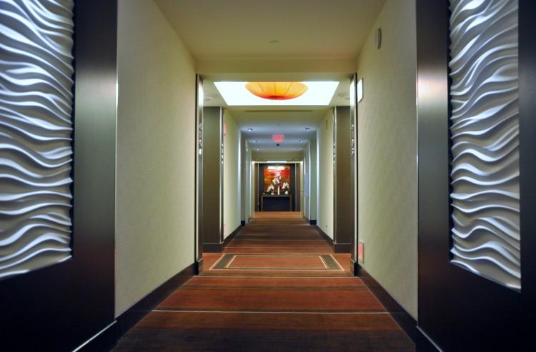 Red Rock Hotel Hallway