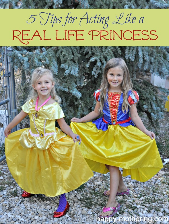 Zoë and Kaylee dressed up like Belle and Snow White
