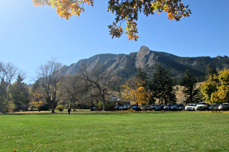 Beautiful mountain landscape in Boulder, CO