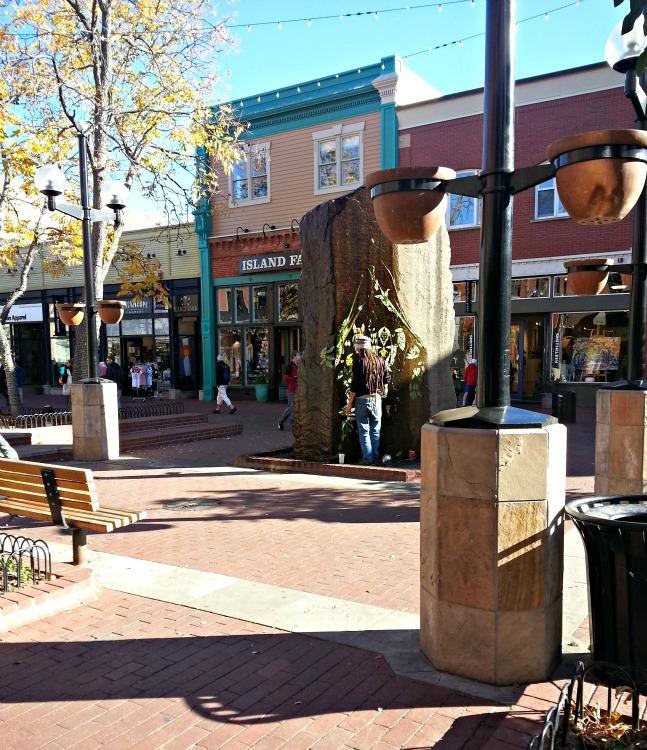 Pearl Street in Boulder, CO