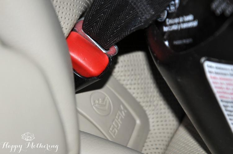 Hyundai Sonata Limited car seat LATCH system