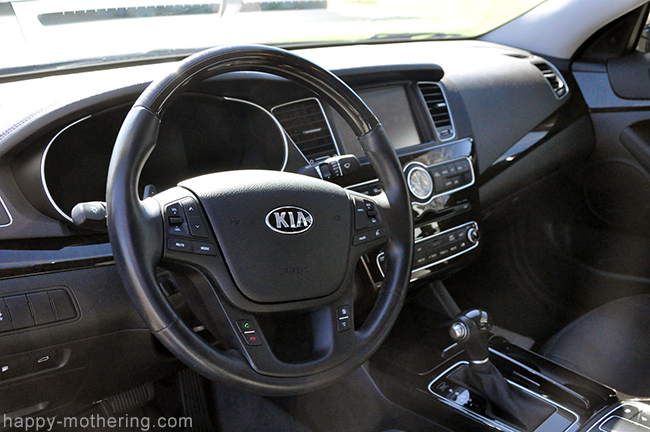 Kia Cadenza steering wheel