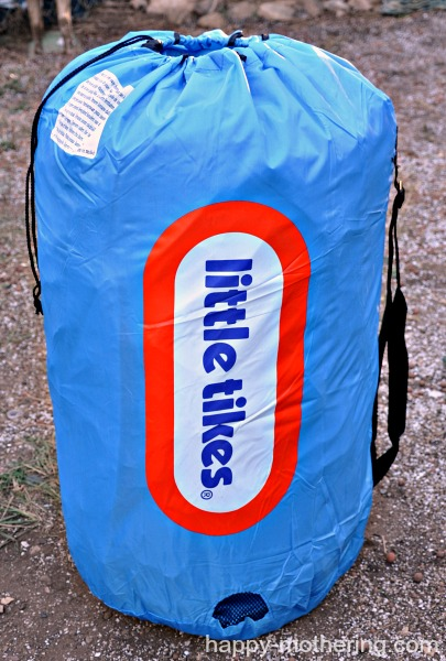 Little Tikes bouncy house storage bag